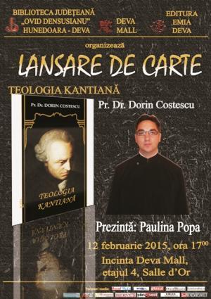 LANSARE DE CARTE - TEOLOGIA KANTIANA